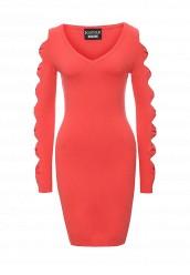 Купить Платье Boutique Moschino коралловый BO036EWOVM38 Италия