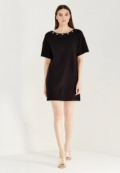 Купить Платье Boutique Moschino черный BO036EWUFP33