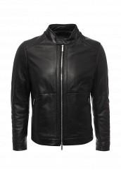 Купить Куртка кожаная Boss черный BO246EMNOX66