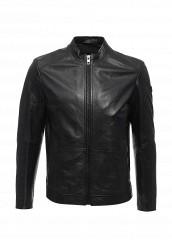 Купить Куртка кожаная Boss Orange черный BO456EMSRW35