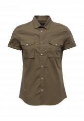 Купить Рубашка Burton Menswear London хаки BU014EWRMK38
