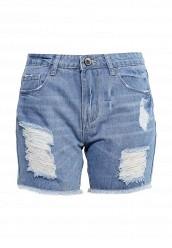Купить Шорты джинсовые By Swan голубой BY004EWOVC26 Китай