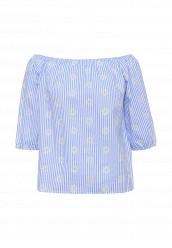 Купить Блуза By Swan голубой BY004EWRPN22 Китай