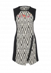Купить Платье Desigual черно-белый DE002EWOQQ31