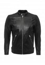 Купить Куртка кожаная Diesel черный DI303EMPND64 Индия