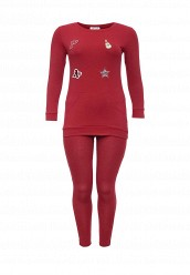Купить Костюм спортивный Donmiao красный DO016EWNPB39