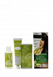 Купить Крем-краска Стойкая питательная для волос Color Naturals оттенок 4.00 Глубокий темно-каштановый Garnier GA002LWSCQ08