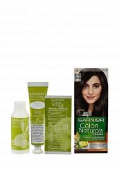 Купить Крем-краска Стойкая питательная для волос Color Naturals оттенок 5.00 Глубокий каштановый Garnier GA002LWSCQ09