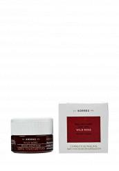 Купить Скраб скраб с дикой розой и aha-кислотами 10% для всех типов кожи 40 мл Korres KO003LWGOJ63