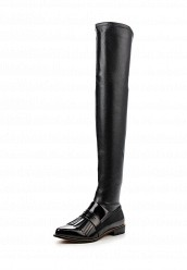 Ботфорты LOST INKGODIVA FRINGED LOAFER OVER KNEE BOOT