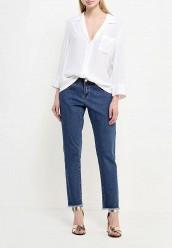 Джинсы LOST INKSLIM BOYFRIEND IN ASTER WASH WITH DESTROYED HEM
