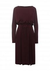 Купить Платье COLEMAN OPEN BACK DRESS LOST INK бордовый LO019EWRWB58