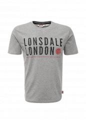 Купить Футболка Lonsdale серый LO789EMARB65