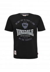 Купить Футболка Lonsdale черный LO789EMUIC44