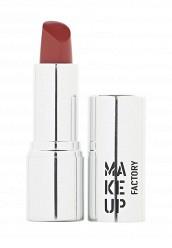 Купить Помада для губ кремовая Lip Color тон 128 красно коричневый Make Up Factory MA120LWHDQ36