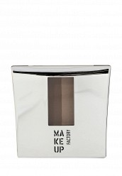 Купить Тени-пудра для бровей с трафаретом Eye Brow Powder тон 4 кофейно-коричневый Make Up Factory MA120LWHDR49