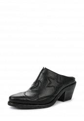Купить Сабо McQ Alexander McQueen черный MC010AWQDV87 Италия