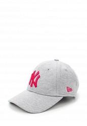 Купить Бейсболка New Era SM JERSERY ESS 9FORTY серый NE001CWMFL26 Китай