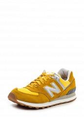 Купить Кроссовки ML574 New Balance желтый NE007AMPED25