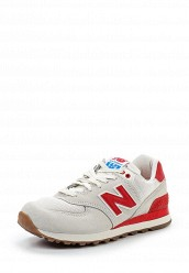 Купить Кроссовки WL574 (USA) New Balance белый NE007AWPDJ35
