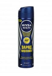 Купить Дезодорант спрей ЗАРЯД МОЛНИИ Nivea NI026LMVIU90 Россия