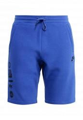 Купить Шорты M NSW SHORT FLC AIR HYB Nike синий NI464EMJFQ92
