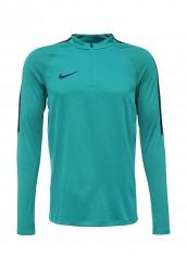 Купить Лонгслив спортивный M DRIL TOP SQD Nike зеленый NI464EMJFS15