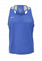 Купить Майка спортивная NIKE BOXING TANK Nike синий NI464EMJNF31