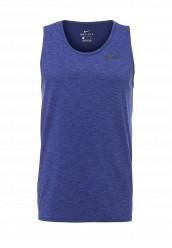 Купить Майка спортивная M NK BRT TANK HPR DRY Nike синий NI464EMPKM16