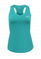 Купить Майка спортивная W NKCT PURE TANK Nike зеленый NI464EWJFX36