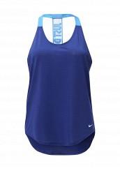 Купить Майка спортивная W TANK ELEVATE ELASTIKA JDI Nike синий NI464EWJFZ13