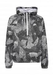 Купить Ветровка W NSW JKT HD WVN AOP Nike серый NI464EWJGA45