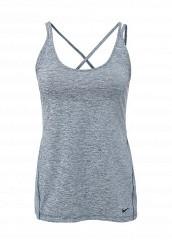 Купить Майка спортивная W TANK STRAPPY Nike синий NI464EWJGD11