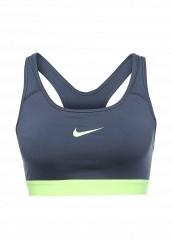 Купить Топ спортивный Nike NIKE PRO CLASC PAD BRA UPDATED синий NI464EWPKV71 Шри-Ланка