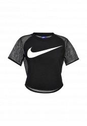 Купить Футболка W NSW TOP CROP SWSH MSH Nike черный NI464EWRZB85 Камбоджа