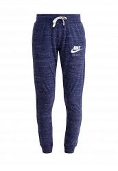 Купить Брюки спортивные W NSW GYM VNTG PANT Nike синий NI464EWRZC12 Камбоджа