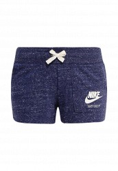 Купить Шорты спортивные W NSW GYM VNTG SHORT Nike синий NI464EWRZC17
