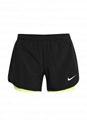 Купить Шорты спортивные W NK FLX SHORT 2IN1 Nike черный NI464EWRZE32