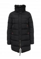 Купить Куртка утепленная oodji черный OO001EWNZU31