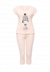 Купить Пижама oodji розовый OO001EWOCW70