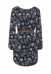 Купить Платье oodji синий OO001EWQSF95 Китай