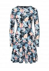 Купить Платье oodji синий OO001EWQSH44 Китай
