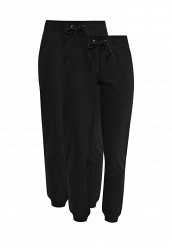 Купить Комплект брюк 2 шт. oodji черный OO001EWRPJ87 Узбекистан
