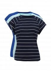 Купить Комплект футболок 3 шт. oodji голубой, синий OO001EWSZS81