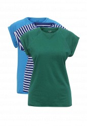 Купить Комплект футболок 3 шт. oodji голубой, зеленый, синий OO001EWTCW93