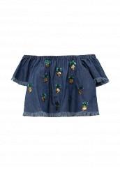 Купить Блуза Piazza Italia синий PI022EGSDV04