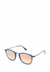 Купить Очки солнцезащитные RB2448N 62547O Ray-Ban® синий RA014DUOSY27 Италия