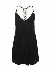 Купить Платье пляжное River Island черный RI004EWREV39