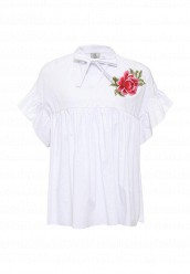 Купить Блуза Rinascimento белый RI005EWSEE28 Италия