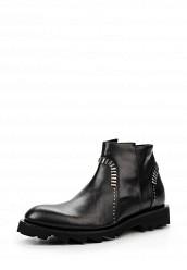 Купить Ботинки Roberto Botticelli черный RO233AMJMO06 Италия